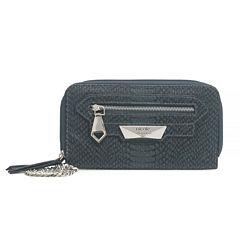 Nicole By Nicole Miller Tasha Triple Zip Clutch Wallet