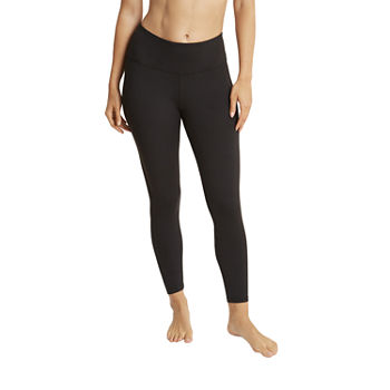 Jockey Womens High Rise 7/8 Ankle Leggings
