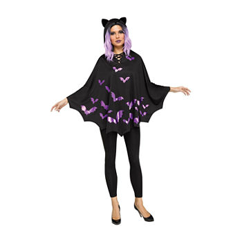 Adult Bat Poncho Costume
