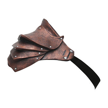 Adult Pauldron Copper Shoulder Armour Accessory