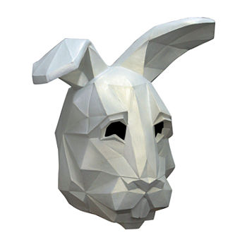 Adult Low Poly Bunny Mask