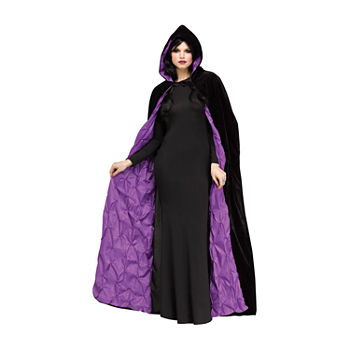 Adult 68 Inch Purple Coffin Cape