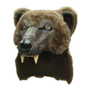 Adult Brown Bear Helmet Hat