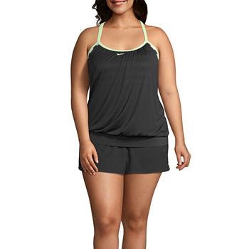 5804f94203 Nike Plus Size Swimsuits & Cover-ups for Women - JCPenney