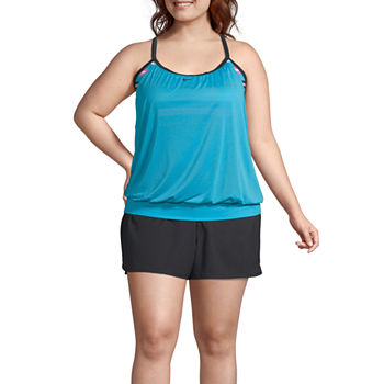 5f6aed81ad66b Plus Size Board Shorts Swimsuits   Cover-ups for Women - JCPenney