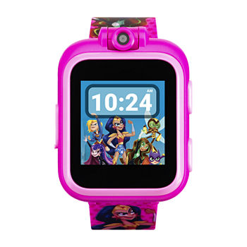 Itouch Playzoom DC Comics Girls Pink Smart Watch-13878m-18-Fpr