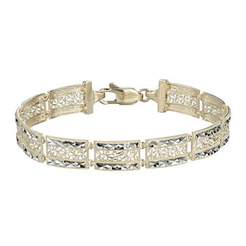 diamond xoxo safety gold in yhst clasp white g bracelet cttw