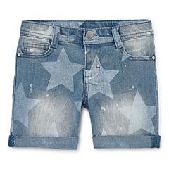 Total Girl Midi Shorts-Preschool Girls
