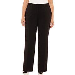Liz Claiborne Sophie Slim Suiting Pant-Plus