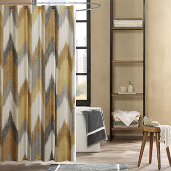 brown and aqua shower curtain.  Yellow Shower Curtains For Bed Bath JCPenney