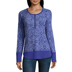Columbia Sportswear Co. Long Sleeve Henley Shirt