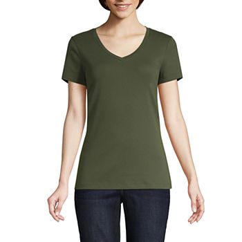 8b239d06 Women's T-Shirts | V-Neck Shirts for Women | JCPenney