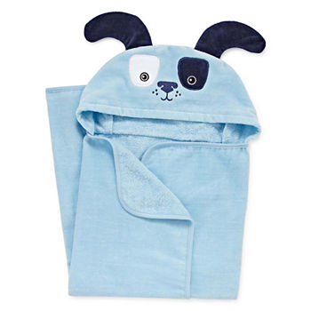 Lil Peach Bear Baby Memory Book, Blue