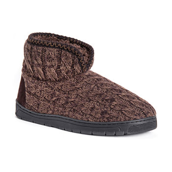 f1b4bae255e11 Bootie Slippers Brown Muk Luks for Women - JCPenney