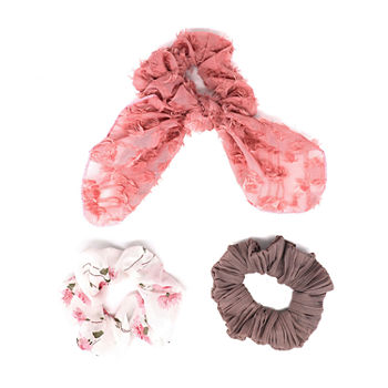 Mixit Multi Color Hair Ties 3-pc.