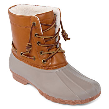 eb7122210756 Round Toe Women s Winter   Rain Boots for Shoes - JCPenney