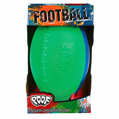 Poof Football With Kicking Tee 2-pc. Combo Game Set