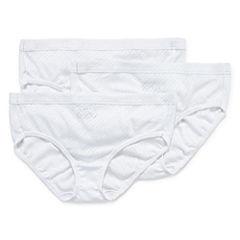 Jockey® Elance® 3-pk. Breathe Hipster Panties 1540