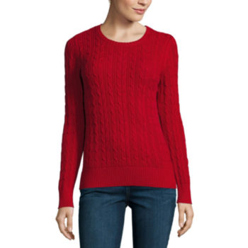Tall Size Red Sweaters & Cardigans for Women - JCPenney