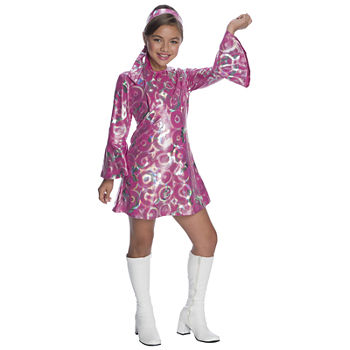 Girls Disco Princess Costume Girls Costume Girls Costume