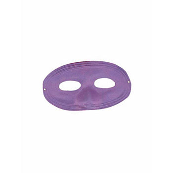 Purple Domino Mask Dress Up Accessory