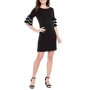 bd505b3e 3/4 Sleeve Dresses for Women - JCPenney