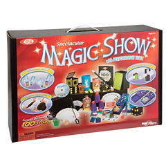 Ideal 100 Trick Spectacular Magic Show Suitcase Unisex 12-pc. Dress Up Accessory
