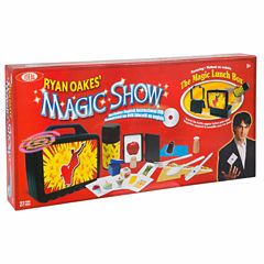 Ideal Ryan Oakes 101 Trick Magic Show Lunch Set & Dvd Unisex 13-pc. Dress Up Accessory