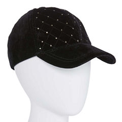 Colombino Headwear Inc Quilted Velvet Baseball Cap
