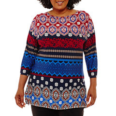 Lark Lane Fall Festival Intricate Tunic-Plus