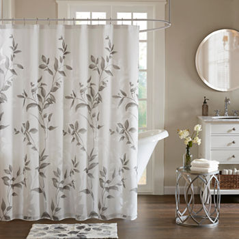 Shower Curtains & Rods, Extra Long Shower Curtains - JCPenney