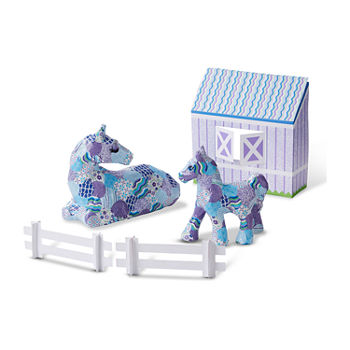 Melissa & Doug Decoupage Made Easy Deluxe Craft Set - Horse And Pony