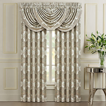 Queen Street Clermont Light-Filtering Rod-Pocket Set of 2 Door Panel Curtain