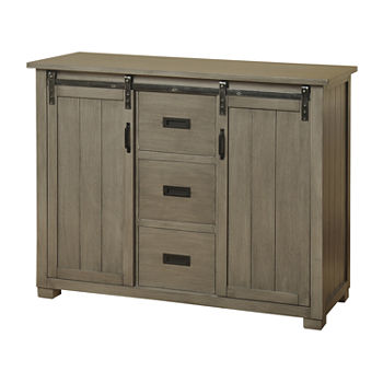 Stylecraft 17 Gray Cabinet Accent Cabinet