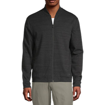 Msx By Michael Strahan Knit Midweight Bomber Jacket