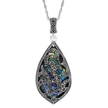 Marcasite pendant necklaces fine necklaces pendants for jewelry buy more and save with code buynow63 aloadofball Image collections