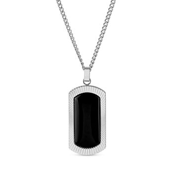 ce7b559fc909b Onyx Dog Tag All Fine Jewelry for Jewelry & Watches - JCPenney