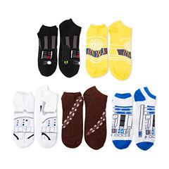 Boys 5-Pk. Star Wars No Show Socks
