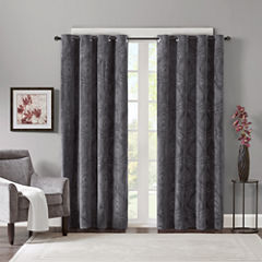 Madison Park Cecil Grommet-Top Curtain Panel