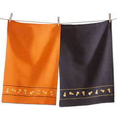 Tag Halloween Candy Corn Assorted 2-pc. Kitchen Towel