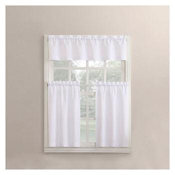 bathroom window curtain.  14 99 sale Kitchen Curtains Bathroom JCPenney