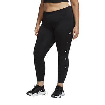 Nike Womens Mid Rise 7/8 Ankle Leggings Plus