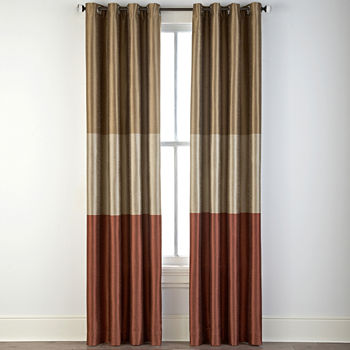 95 Inch Orange Curtains Drapes For Window