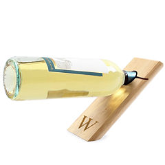Cathy's Concepts Personalized Counter-Balance Wine Bottle Holder