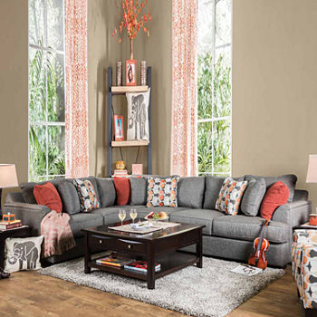 Fabric Living Room Sets For The Home - JCPenney