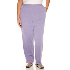 Alfred Dunner Sweet Nothings Knit Pull-On Pants