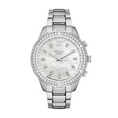 Relic Eliza Womens Silver Tone Smart Watch-Zrt1000