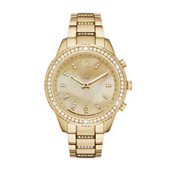 Relic Connected Eliza Womens Gold Tone Smart Watch-Zrt1001