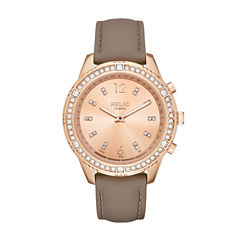Relic Eliza Womens Rose Goldtone Smart Watch-Zrt1005