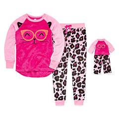Total Girl 2-pc. Pant Pajama Set Girls